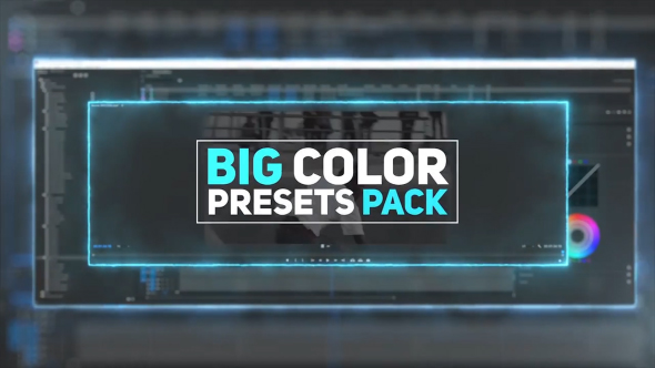 Big Color Presets Pack