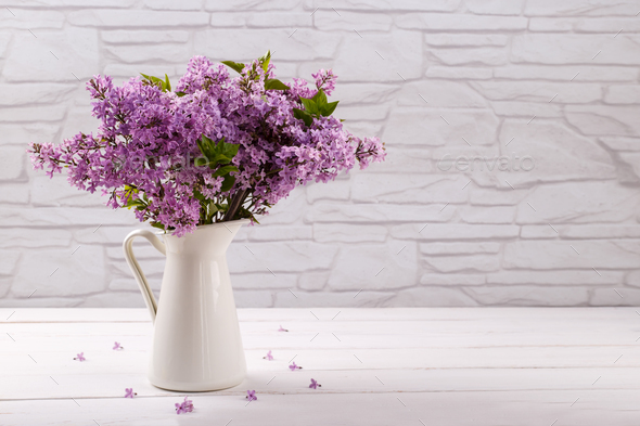 Lilac flowers - Stock Photo - Images