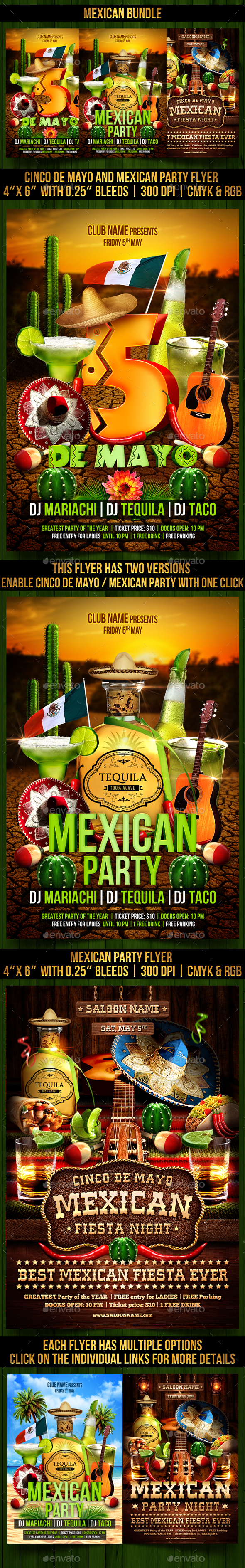 Mexican Bundle - Clubs & Parties Events
