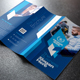 Blue Trifold Brochure - GraphicRiver Item for Sale