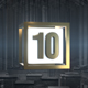Top 10 Golden Countdown - VideoHive Item for Sale