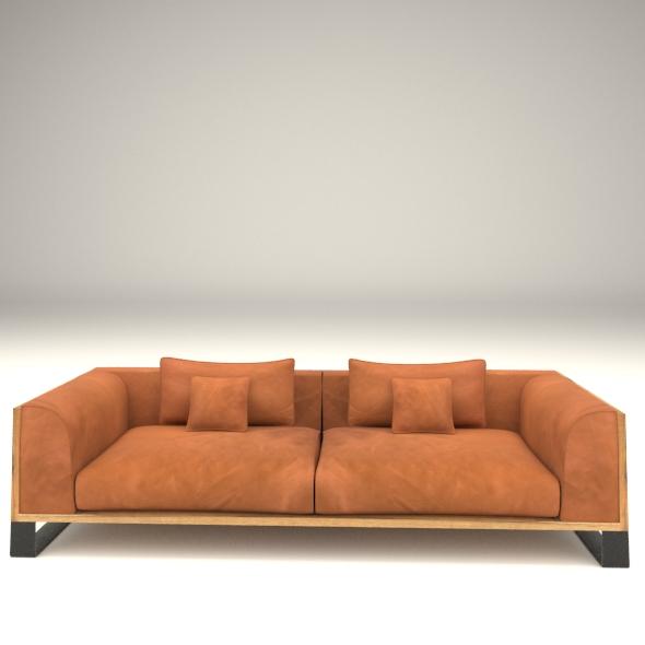 edem sofa - 3DOcean Item for Sale