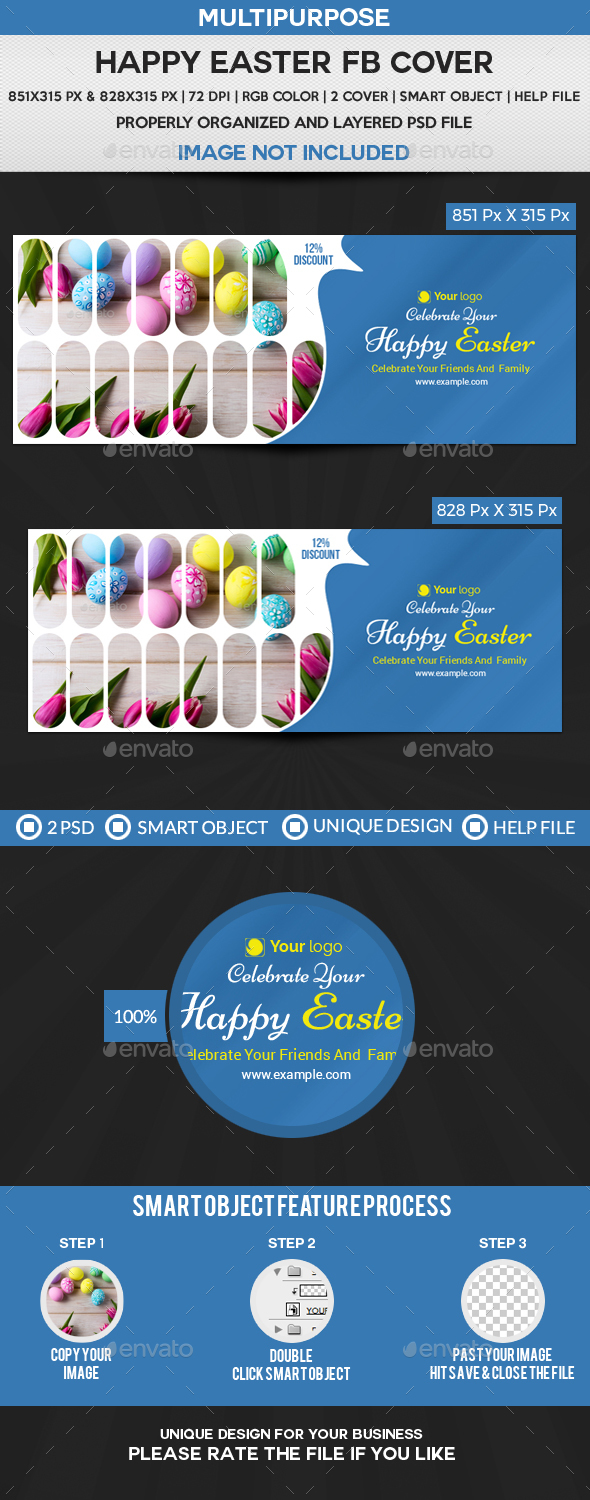 Happy Easter Facebook Cover - Facebook Timeline Covers Social Media