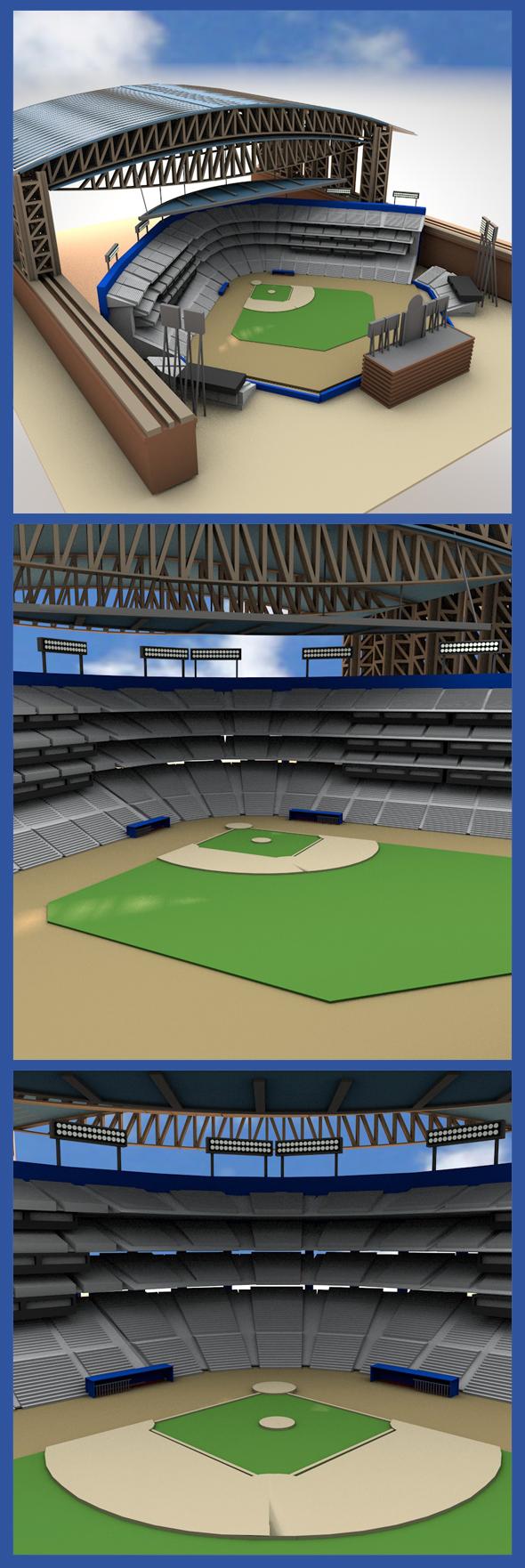 Minnesota Twins Stadium - 3DOcean Item for Sale