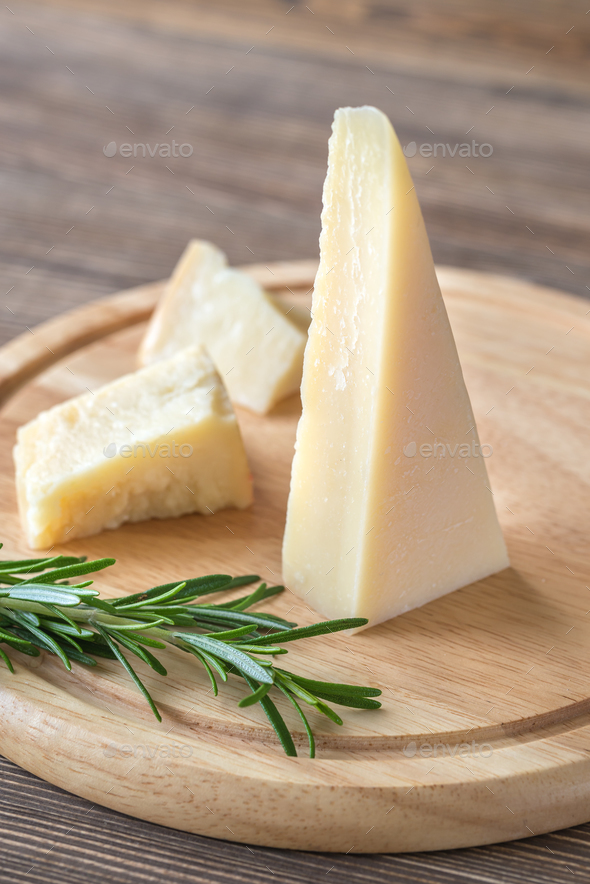 Grana Padano cheese  - Stock Photo - Images