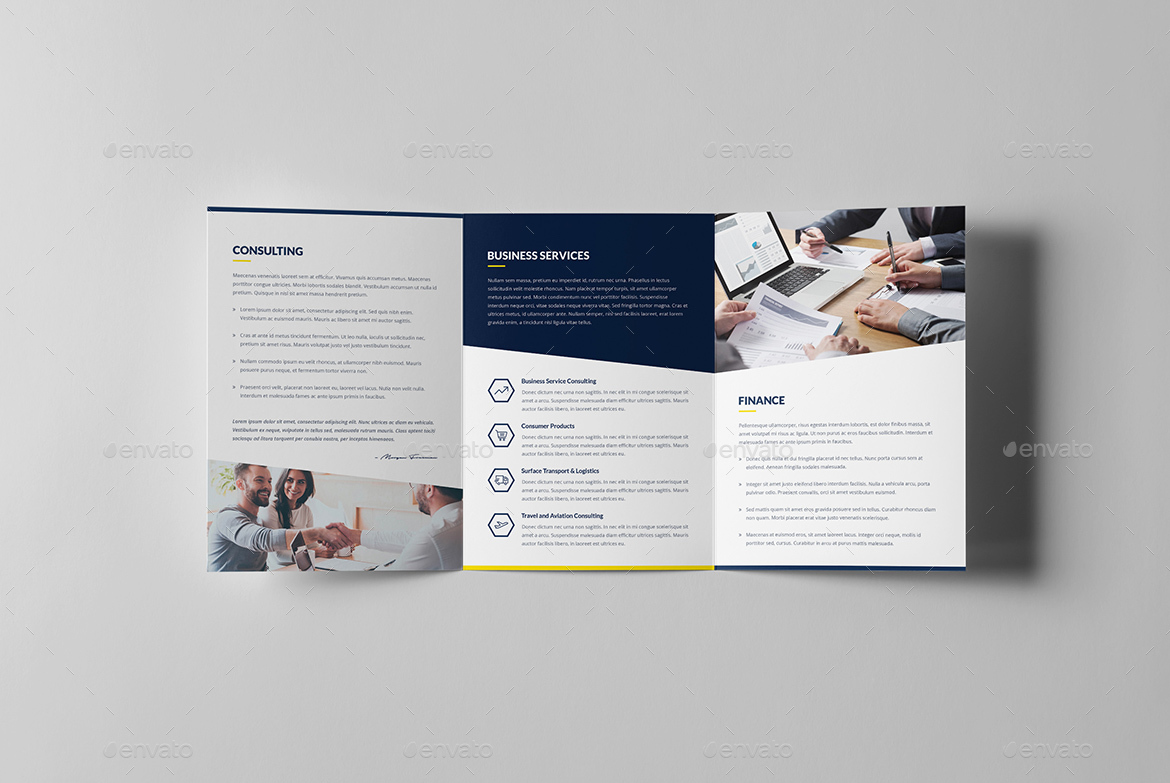 finance and business brochures bundle print templates 8 in 1 by