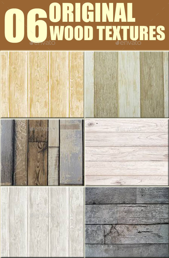 06 Original Wood Textures - 3DOcean Item for Sale