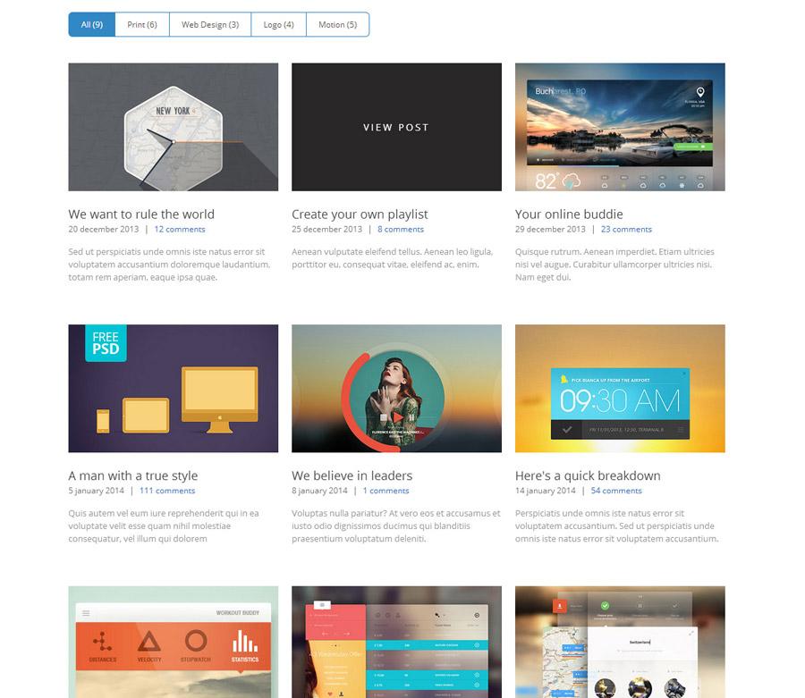 Cube Portfolio Responsive Wordpress Grid Plugin By