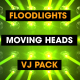 Floodlights - Moving Heads - VideoHive Item for Sale