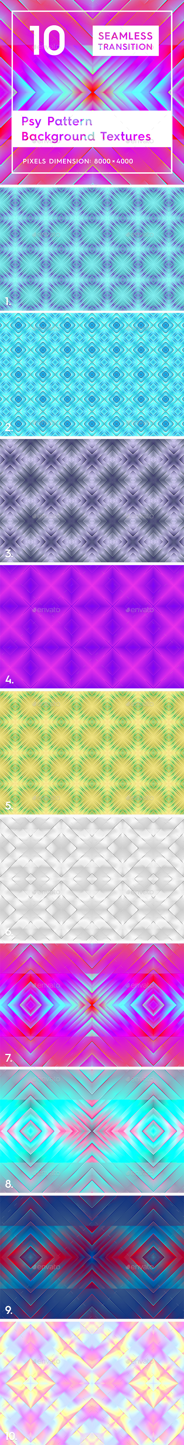 10 Psy Pattern Background Textures - Patterns Backgrounds