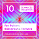 10 Psy Pattern Background Textures - GraphicRiver Item for Sale