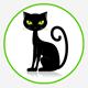 Om Nom Nom Greedy Cat Eating and Growl 2 Pack