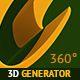 3D Generator with Multi Directional Shadow - GraphicRiver Item for Sale