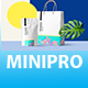 Minipro - Minimal Portfolio Template - ThemeForest Item for Sale