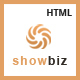 Showbiz - Multipages Business HTML Template - ThemeForest Item for Sale