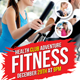 Fitness Health Flyers Template
