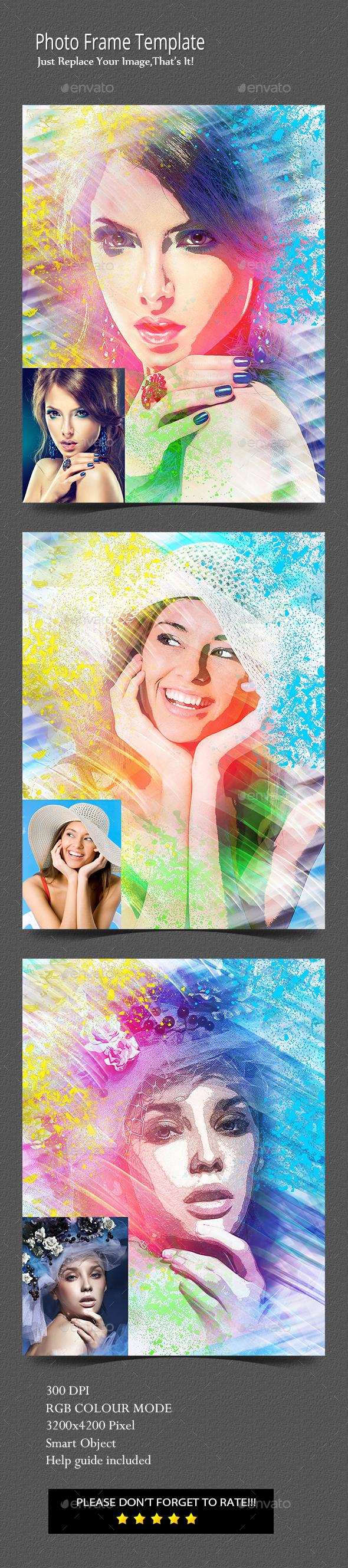 Artiatic Photo Template - Photo Templates Graphics
