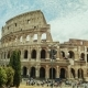 The Famous Colosseum, a Popular Place Among Tourists Around the World - VideoHive Item for Sale