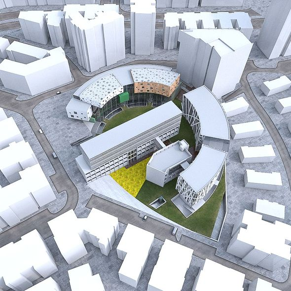 Campus Buildings Set 02 - 3DOcean Item for Sale