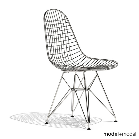 Eames  Wire Chair DKR - 3DOcean Item for Sale