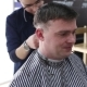 The Gay Boy Hairdresser Makes a Stylish Hairstyle for a Male Client - VideoHive Item for Sale