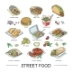 Street Food Vectors