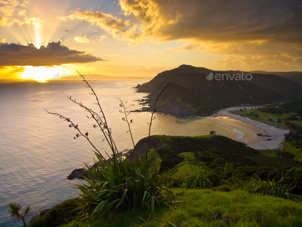 Pacific Sunrise - Stock Photo - Images