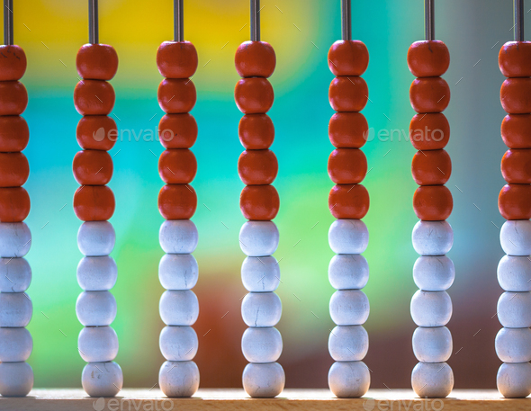 Traditional Abacus in a School - Stock Photo - Images