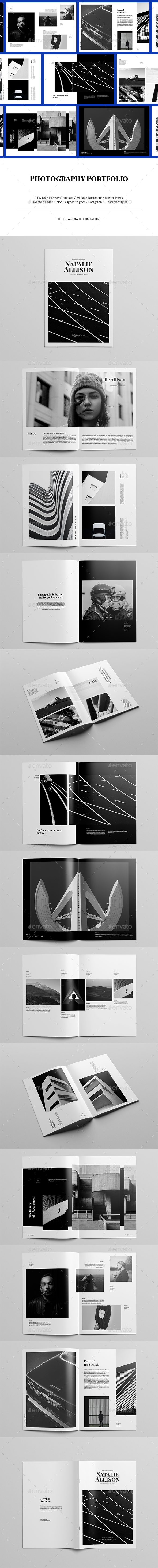 Minimal Photography Portfolio by Bervisual | GraphicRiver