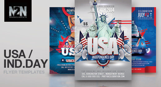 n2n44 usa flyer templates