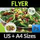 Salad Restaurant Flyer Template - GraphicRiver Item for Sale