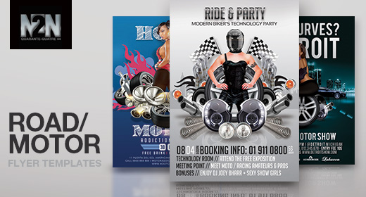 n2n44 road flyer templates