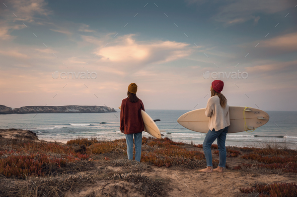 In search of waves - Stock Photo - Images