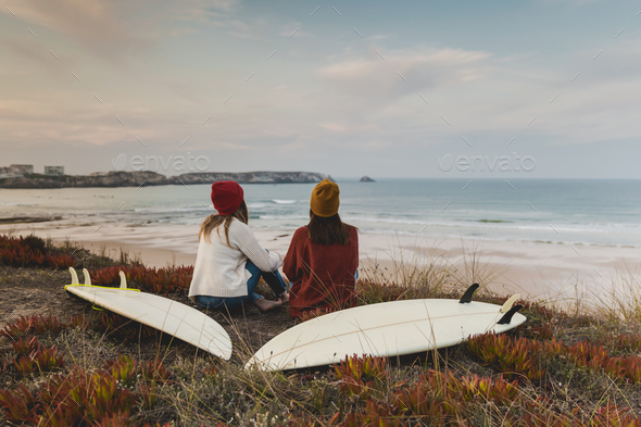 Another surf day - Stock Photo - Images
