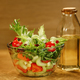 Bowl of salad with fresh vegetables - PhotoDune Item for Sale
