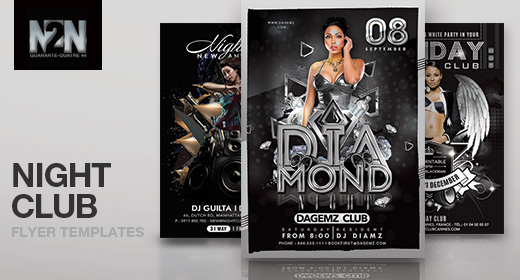 n2n44 nightclub flyer templates