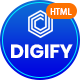 Digify - Digital and Marketing Agency HTML Template - ThemeForest Item for Sale