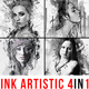 Ink Artistic - 4in1 Photoshop Actions Bundle - GraphicRiver Item for Sale