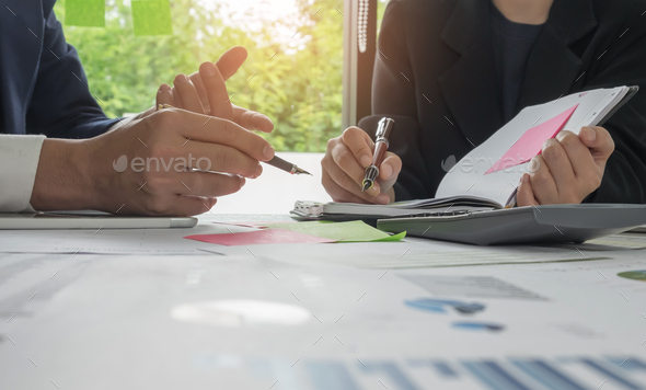 Business concepts,Management is executing the secretary is takin - Stock Photo - Images