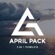 April Pack 3 in 1 Bundle Creative Google Slide Template - GraphicRiver Item for Sale