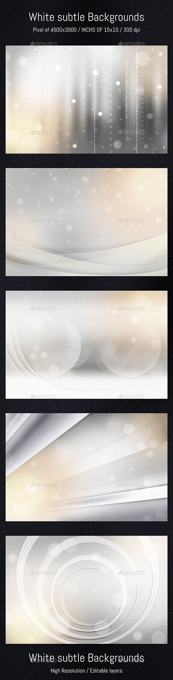 White Subtle 05 Backgrounds - Miscellaneous Backgrounds
