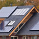 Solar panels on  house - PhotoDune Item for Sale