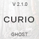 Curio - Responsive Minimal Ghost Theme - ThemeForest Item for Sale