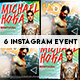 Instagram Banner Events - GraphicRiver Item for Sale