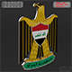 Coat of arms of Iraq - 3DOcean Item for Sale