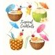 Set of Summer Cocktails - GraphicRiver Item for Sale
