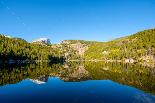 Bear Lake, Rocky Mountains, Colorado, USA. - Stock Photo - Images