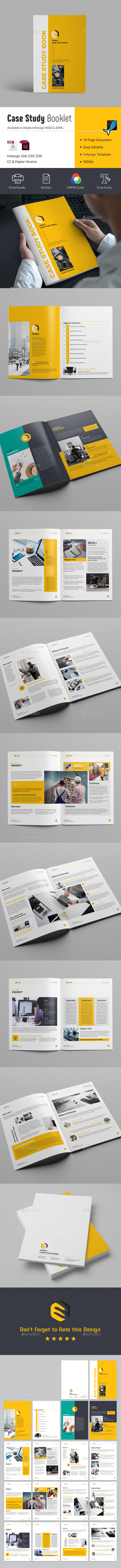 Case Study Booklet - Informational Brochures