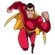 Superhero Running Frontal View - GraphicRiver Item for Sale