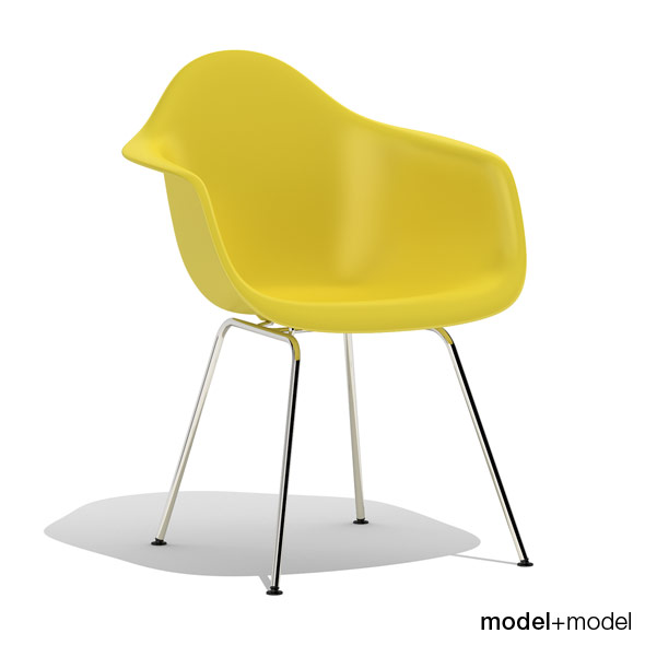 Eames Plastic Armchair DAX - 3DOcean Item for Sale
